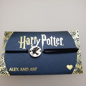 NWT Alex and Ani Harry Potter Ravenclaw Pull Cord